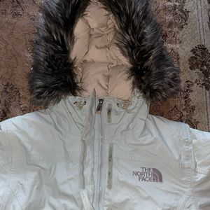 North face puffy jacket
